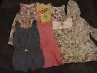 Girls 3/4 clothes