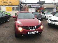 Nissan Juke 1.6 Petrol reg 2012 miles 63,000