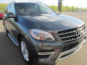 2014 Mercedes-Benz M-Class ML350 BlueTEC, Leather, navi, pano ro