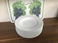 Porcelain Pasta Bowls - 8 of