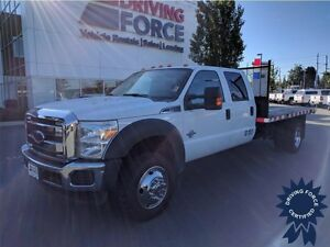 2014 Ford Super Duty F-550 XLT 4WD Crew Cab, 67,558 KMs, A/C