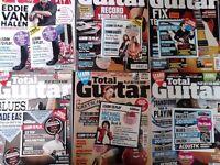 Various Total Guitar Magazines 2016
