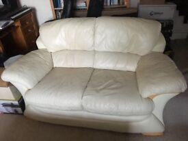 Leather sofa for sale £20