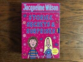 Set of three Jacqueline Wilson books
