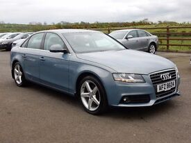 2009 Audi A4 2.0 tsi se with only 81000 miles, motd march 2018, excellent example