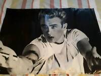 Poster large James Dean