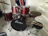 Boston 7 piece drum kit