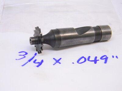 Used Hss Straight Tooth Woodruff Keyseat Cutters 34 X .049
