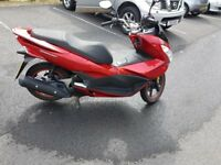 honda pcx 125cc late 2017 on a 67plate