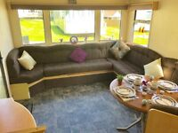 8 Berth Static caravan for sale Isle Of Wight on a 12 month park, sea & countryside views, IOW
