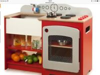 Wooden toy country kitchen