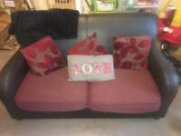 DFS sofa bed and large armchair
