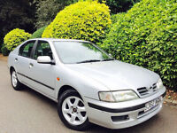 **ONLY 40K+NO RUST** NISSAN PRIMERA 1.6 SX + FULL NISSAN S/HISTORY + ONE YR MOT + 2OWNER + V CLEAN!!