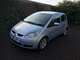 Mitsubishi colt 1.5-dci-automatic-5dr-diesel-2008 model-1 owner-part exchange welcome