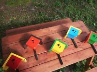 Handmade in Cape Breton Bird Houses