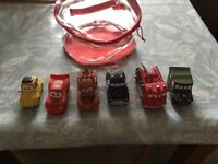 Disneys Cars 6 pack with matching bag