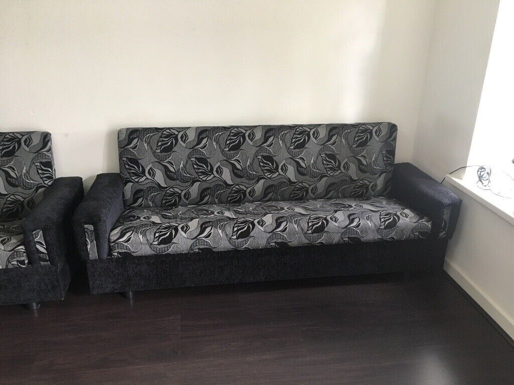 Sensational 3 Sofa Settee Folds Into Bed 125 Ono In Leicester Leicestershire Gumtree Gmtry Best Dining Table And Chair Ideas Images Gmtryco