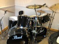 Pearl Masters Custom Maple Shell (Reserve) Drum Kit -Colour - Twilight Burst