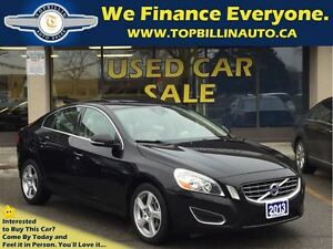 2013 Volvo S60 T5 Premier, LEATHER, SUNROOF, LOW Kms