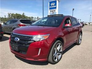 2013 Ford Edge Sport, Cuir, AWD ,Superbe toit ouvrant!!