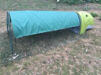 Green Omlet Eglu Classic Rabbit Guinea Pig house with 2m run