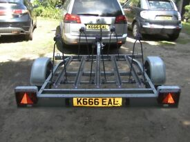 FULLY GALVANISED VERY HEAVY DUTY 5 CYCLE 5OOKG TRANSPORTER TRAILER...