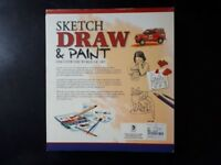 Sketch, Draw & Paint: 6 Books in 1