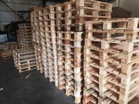 Constant supply of good quality pallets for sale. Delivery available.