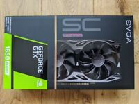 GTX 1650 Super 4gb - new, sealed - Evga SC Ultra (nvidia) graphics card