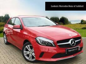 Mercedes-Benz A Class A 180 D SPORT PREMIUM (red) 2017-07-31