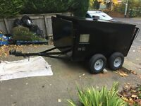 Twin Axle Trailer (dog/livestock/box/quad bike trailer)