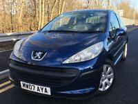 Peugeot 207 1.4 S 2007 + FULL SERVICE HISTORY + 12 MONTHS MOT + 1 LADY KEEPER FROM NEW