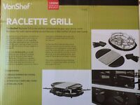 Raclette Grill - Brand new, never used