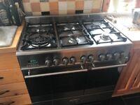 Kenwood dual fuel double oven cooker