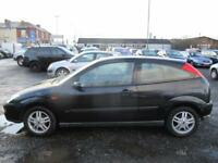 FORD FOCUS 2.0 Zetec ESP 3dr (black) 2000