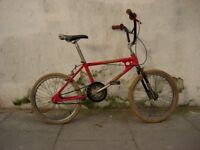 BMX Old School Raleigh Burner MK1, All Original, Ready for Restoration, The Perfect Blueprint !!!