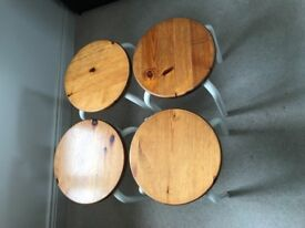 SET OF 4 IKEA STOOLS