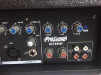 Prosound N73HH PA amp