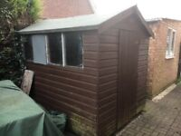 6x8' Timber Shed