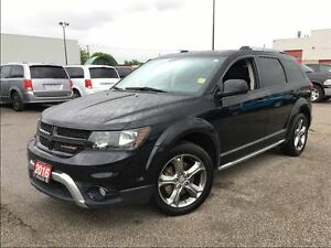 2016 Dodge Journey CROSSROAD**7 PASSENGER**NAV**SUNROOF**LEATHER