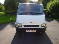 FORD TRANSIT 2 LITRE DIESEL/ MOT TILL 16th AUGUST 2017/ ONLY 145,201 GENUINE MILES