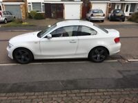 BMW 118D Full Red leather seats