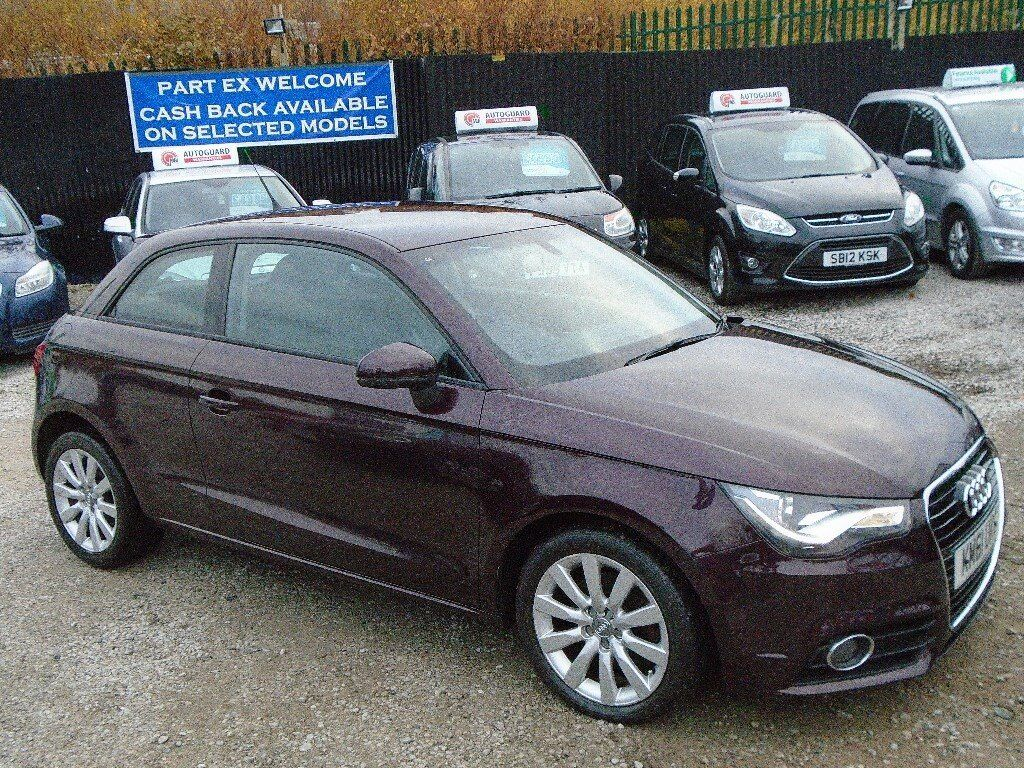 Audi 1, 1.6 diesel, 3 door, metallic purple