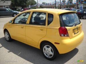 Chevy Aveo 2004 - Put key in and go!