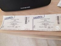 2x tickets Justice at Brixton Academy - Thurs 29th - £35 each