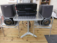 Big Sony with Kenwood Amp and Yamaha Cd player Loud and Clear
