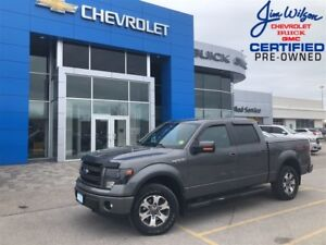 2013 Ford F-150 FX4 5.0L 4X4 HEATED/COOLED SEATS LOW LOW KMS!!!