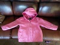 No-Fear Girls Winter Coat Ski Jacket age 13 BNWT