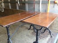 Pub man cave tables