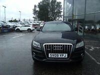2009 09 AUDI Q5 3.0 TDI QUATTRO S LINE 5D AUTO 240 BHP***GUARANTEED FINANCE*****